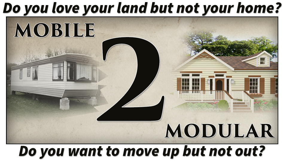 Mobile Home to Modular Home - Black Creek Custom Homes